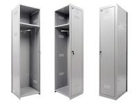 Шкаф для раздевалок ПРАКТИК ML 01-40 (дополнительная секция)